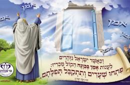 פתחו שערים ותתקבל תפילתם