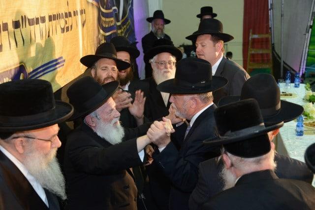 הגר''י זילברשטיין בשמחה של מצוה