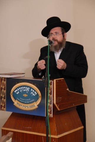 הרב ישראל מאיר שושן - מגיד מישרים נושא דברי חיזוק והתעוררות