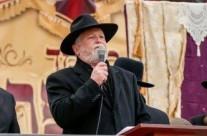 """הנגיד הר""""ר יעקב דב מרמורשטיין נשיא 'בני אמונים' נושא דברים"""