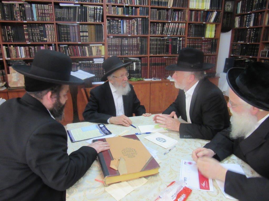 עם הרה''ג רבי יעקב איידלשטיין - רבה של רמת השרון