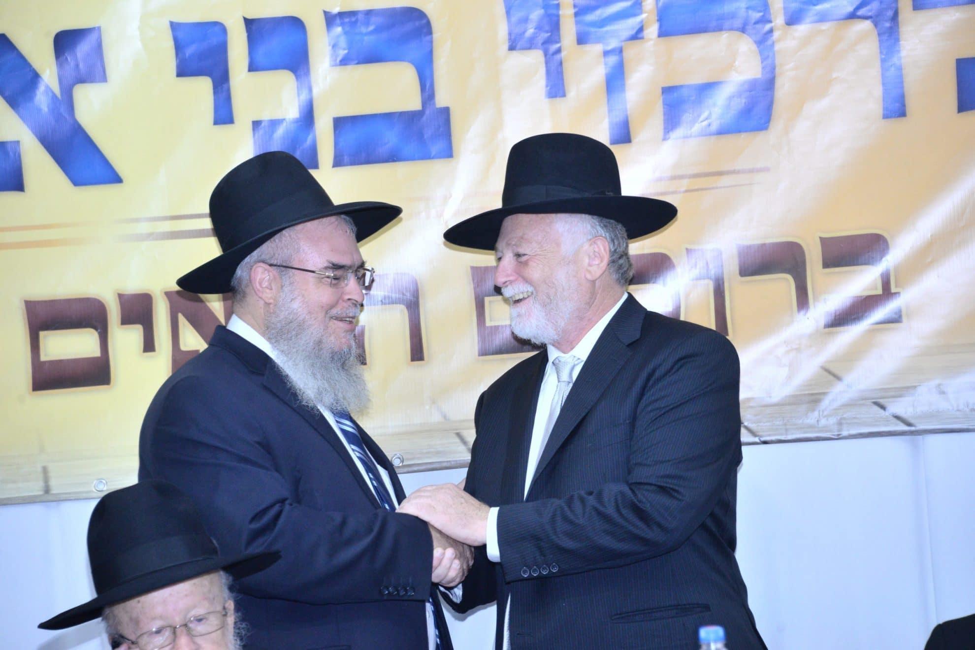 הרב חנניה צ'ולק יו''ר עזר מציון