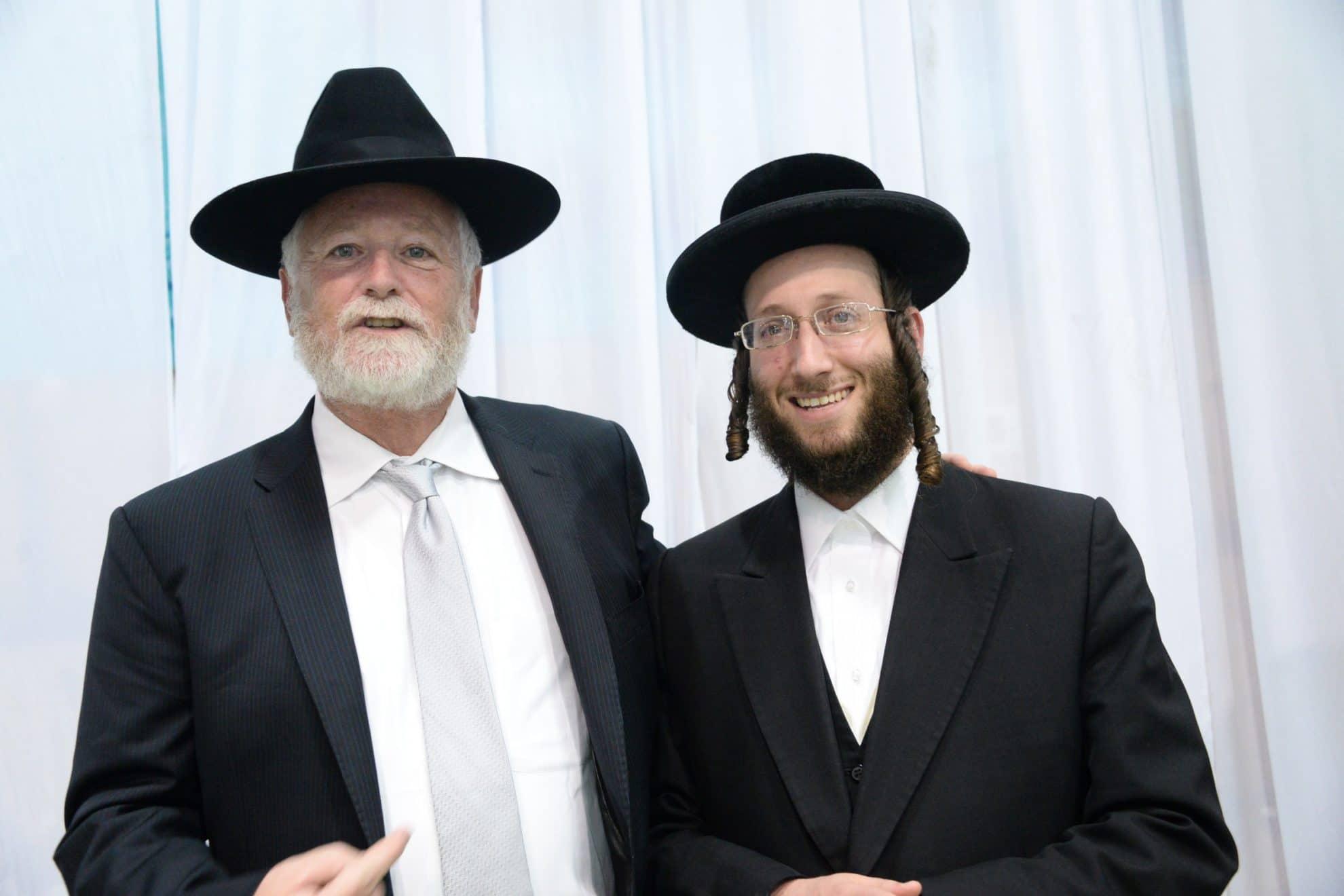 עם הרב אהרון ברייער נציג בני אמונים באוסטרליה